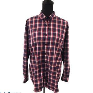 Thomas Pink Dress Shirt in size 12